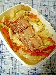 ☆豚角煮と野菜炒め弁当☆