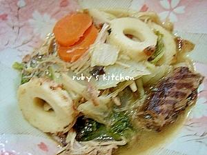 節約レシピ☆鯖缶と野菜のみそ煮込み