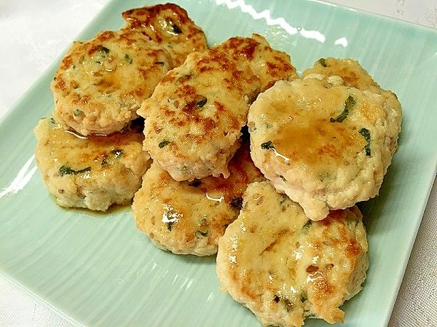 4. 和風塩ダレの豆腐ハンバーグ