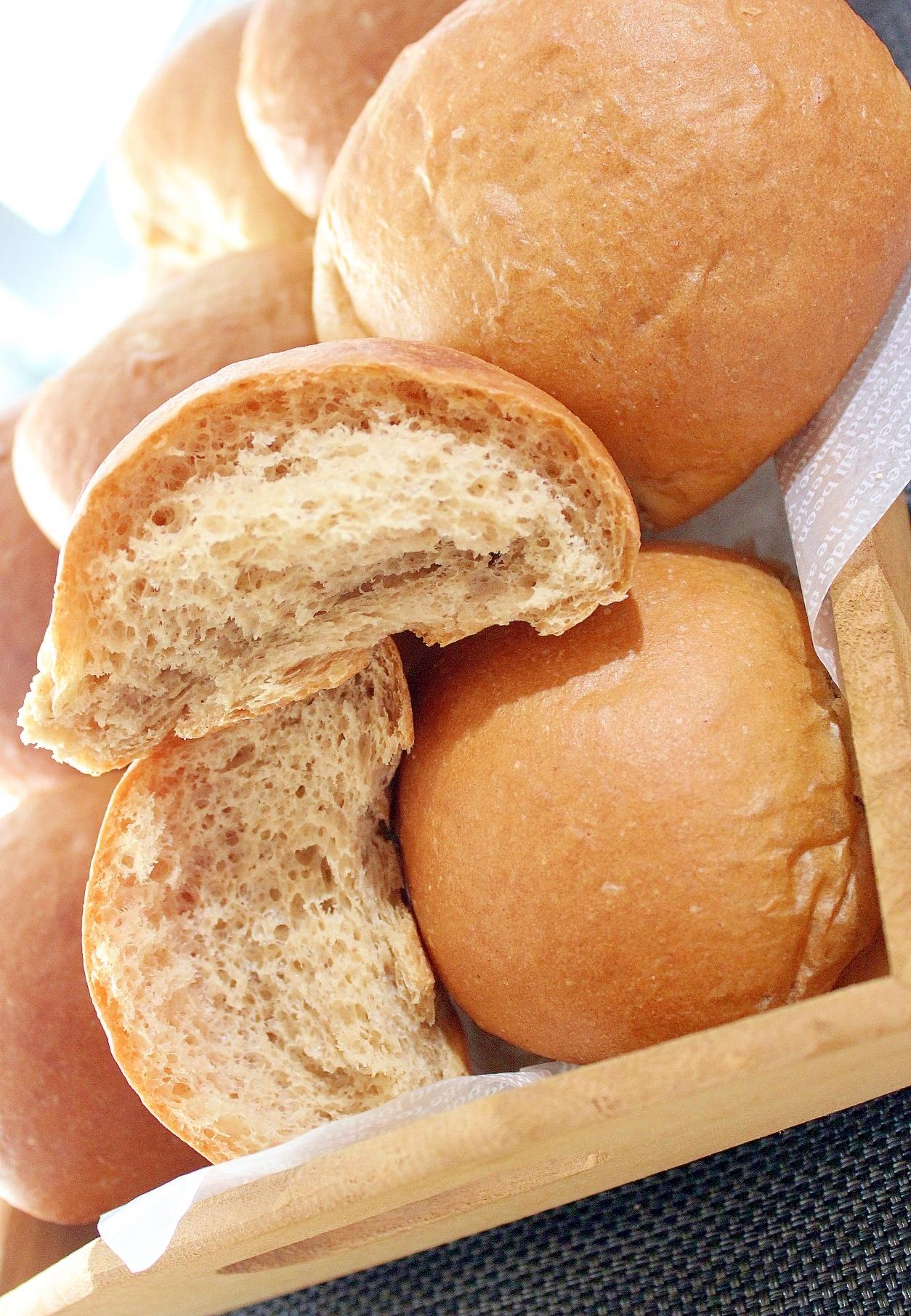 糖質制限★米ブラン入りピーナッツふんわりブランパン