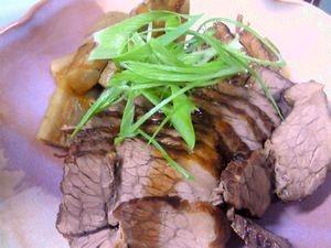 牛かたまり肉の和風煮込み