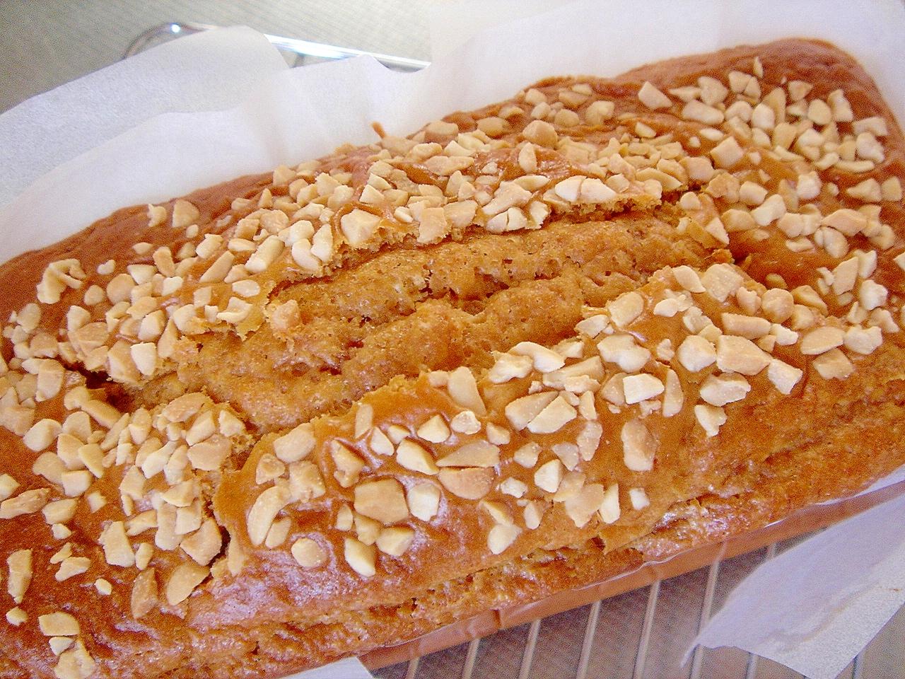 5. バナナキャラメルパウンドケーキ