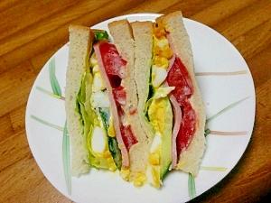 ささっと☆サンドイッチ