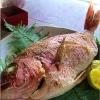 お祝いに 鯛の塩焼き・にらみ鯛の参考画像