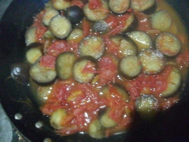 トマトナスのスープ煮