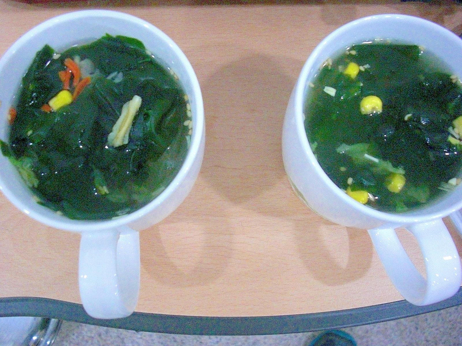3. インスタントスープのアレンジ