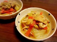 時短簡単♪ 出汁ガラ入り白菜のサッと煮☆