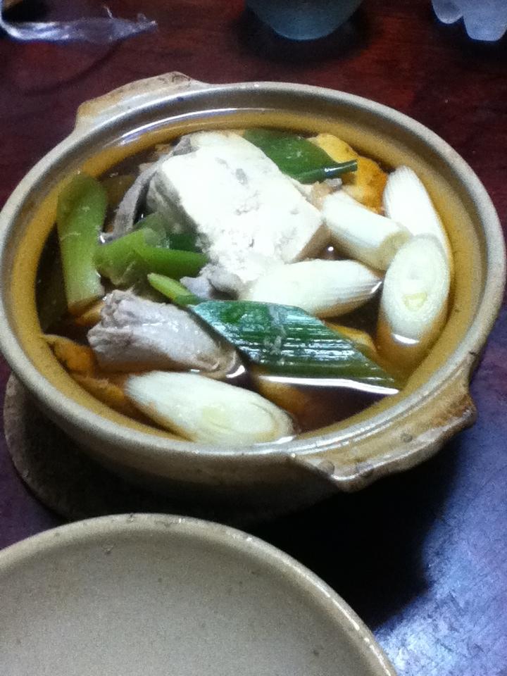 アゴ出汁deネギマ豆腐鍋