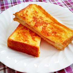チーズが香る♪クロックムッシュ風フレンチトースト