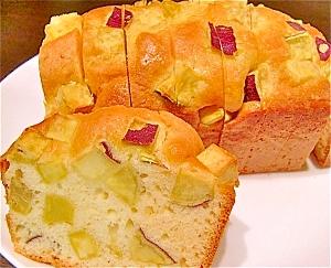 バターなしであっさり!さつまいもパウンドケーキ レシピ・作り方 by あんちょこりん。|楽天レシピ