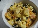 高野豆腐のたまご丼