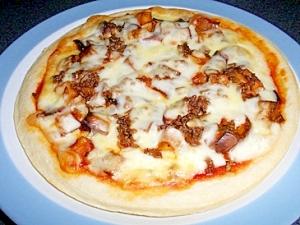 簡単なすピザ