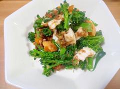 ブロッコリーとゆで卵のメープル胡桃ダレサラダ