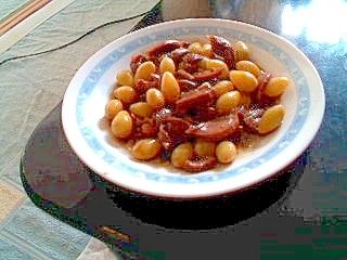 砂肝と銀杏のコリコリ炒め