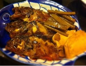 みりんを使わない魚の煮付け