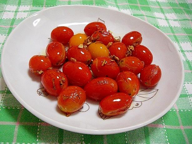 6. プチトマト炒め