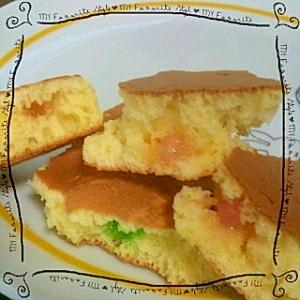 *金平糖入り可愛いホットケーキ*