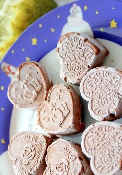 徳島産すだちマーマレードジャムの濃厚チョコアイス
