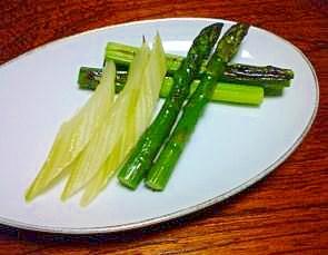手抜きで簡単!春野菜の焼き浸し