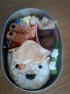 こどもの日のお弁当☆