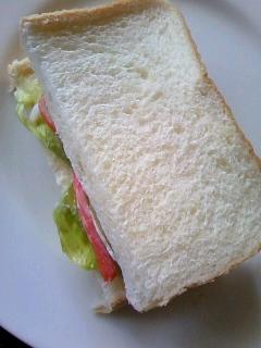 カニかま&レタス☆サンドイッチ