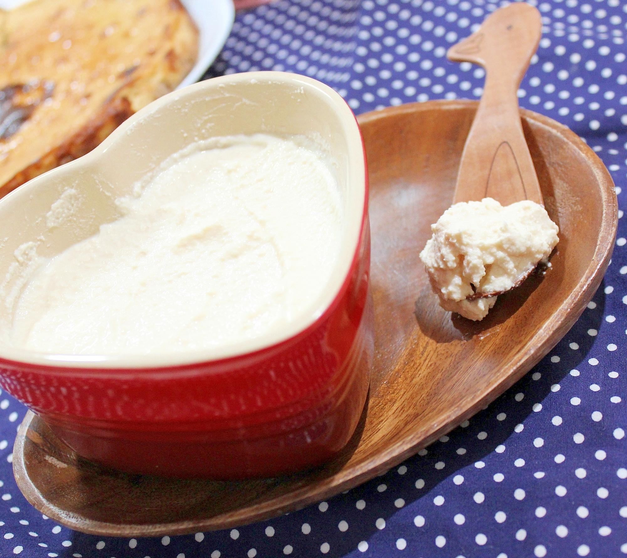 10分で作れる♪低カロリー手作り濃厚クリームチーズ