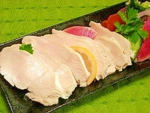 6. 簡単なのに本格的「鶏むね肉のサラダチキン」