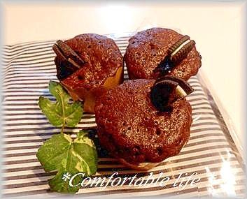 1. ココアの蒸しケーキ