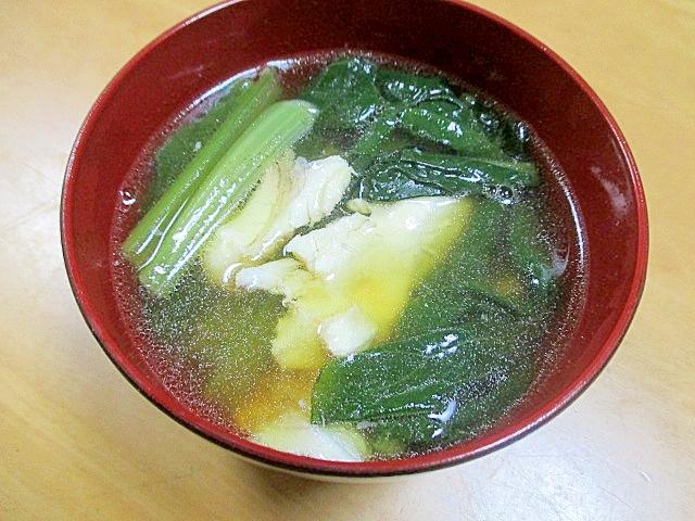 鯛のアラでとっても美味しい澄まし汁