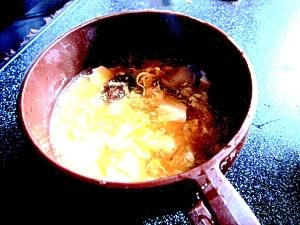 心も体もぽかぽか中華スープ。