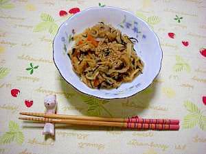 常備菜.切り干し大根の煮物