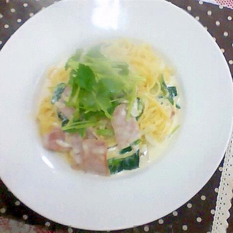 9. レモン&ガーリックパスタ