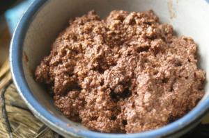 豆腐で作るチョコクリーム