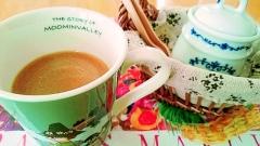 アーモンドミルクカフェオレ