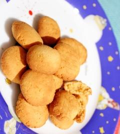 卵黄消費☆糖質オフ☆濃厚レモンクッキー