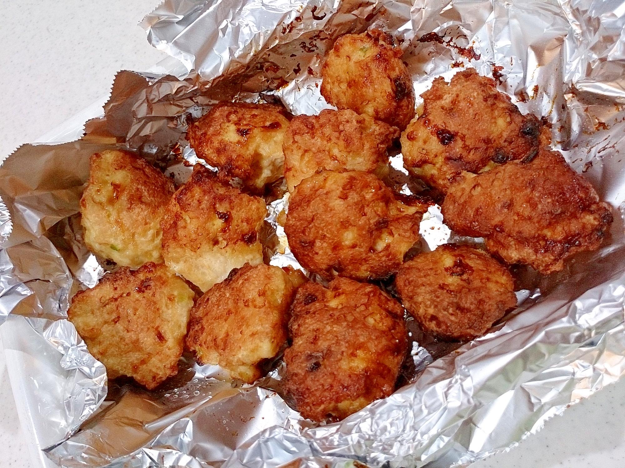 鶏つみれ焼き団子