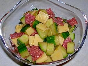 サラキューチーのイタリアンサラダ