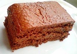 蒸し焼きショコラケーキ