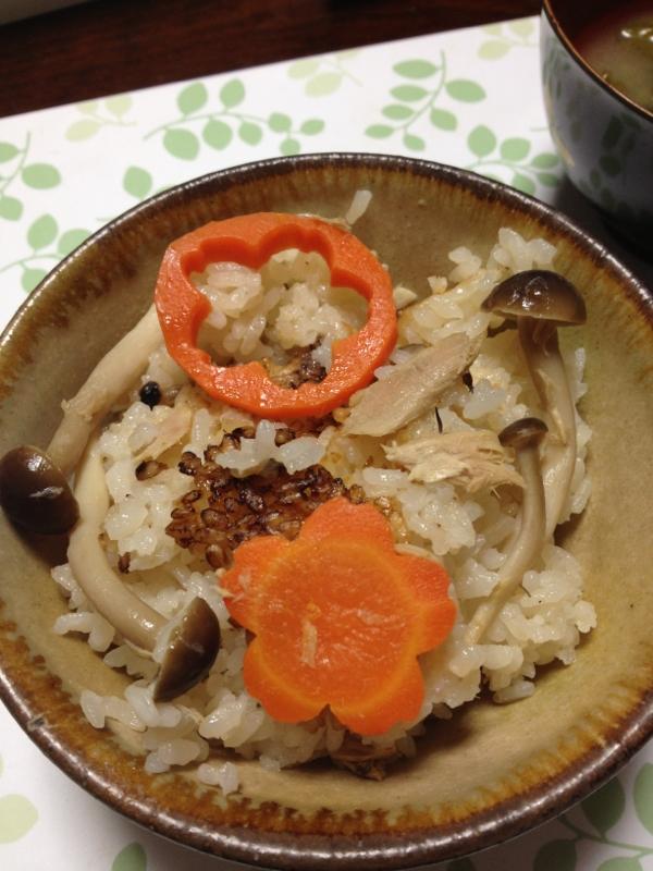 炊飯器で簡単!秋の炊き込みご飯