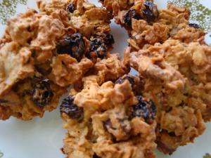 3.オートミールとレーズンのクッキー