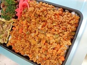 お弁当に☆野菜たっぷりドライカレー