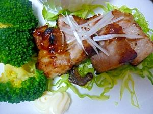 豚バラブロックの簡単オーブン焼き☆