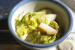 かぶと白菜の塩麹ソテー