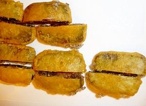 これもあり!?小豆の天ぷら