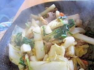 白菜しめじ肉八宝菜