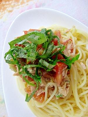 簡単混ぜるだけ☆トマトとツナの冷製パスタ レシピ・作り方 by halu*|楽天レシピ