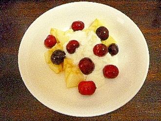 アメリカンチェリー&林檎ミルクヨーグルト