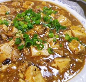 豚バラでコッテリ麻婆豆腐
