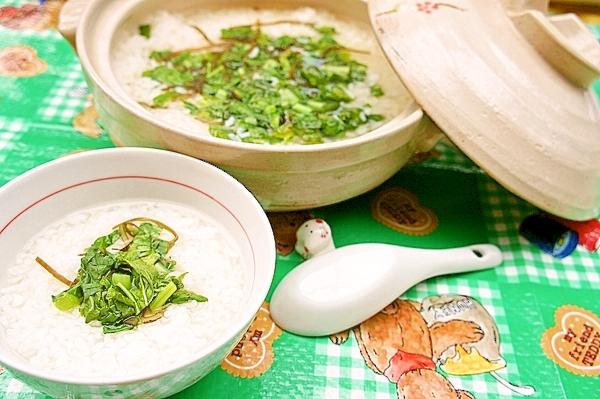 美肌&ダイエットにおススメ☆大根の葉の雑炊
