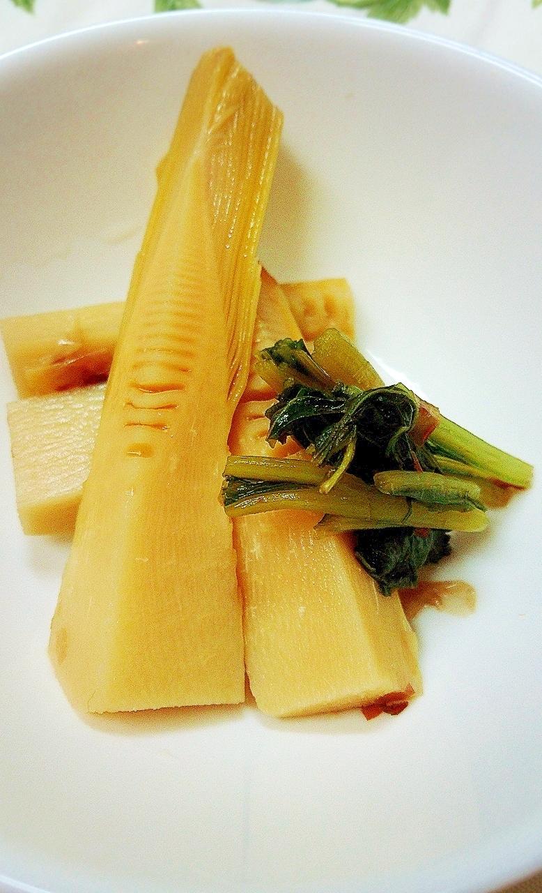5. 竹の子とふきの葉の春煮物